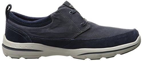 Skechers Mannen Harper Olney Functionele Schoen Navy