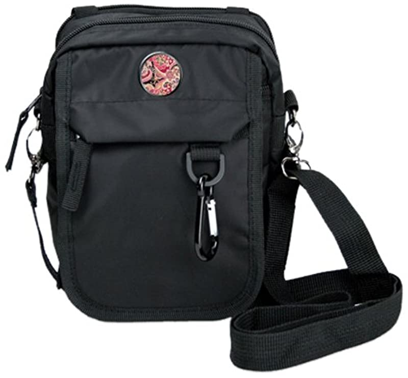 CMC Golf Paisley Urban Pack with Dark Background, Black