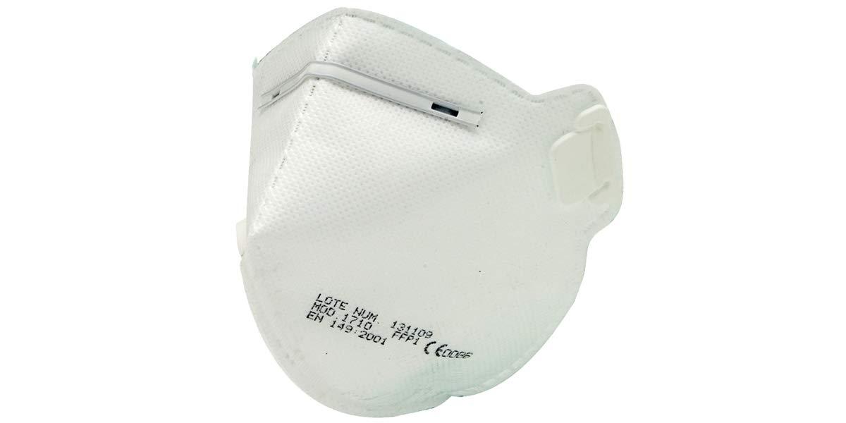 Mascarilla alta proteccion filtro FFP1 EN STOCK ENTREGA EN 24/48 h. Normativa EN 149:2001+A1:2009. Fabricada en España. Unisex