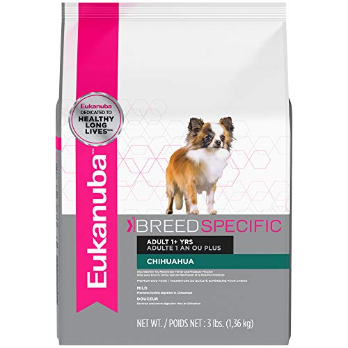 Eukanuba Breed Specific Adult Chihuahua Dog Food 3 Pounds ()