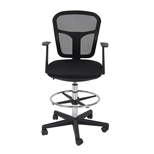 Studio Designs Riviera Drafting Chair, Black by Studio Designs