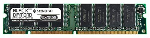 - 512MB RAM Memory for Packard Bell Legend Series A 147 164pin PC133 SDRAM DIMM 133MHz Black Diamond Memory Module Upgrade