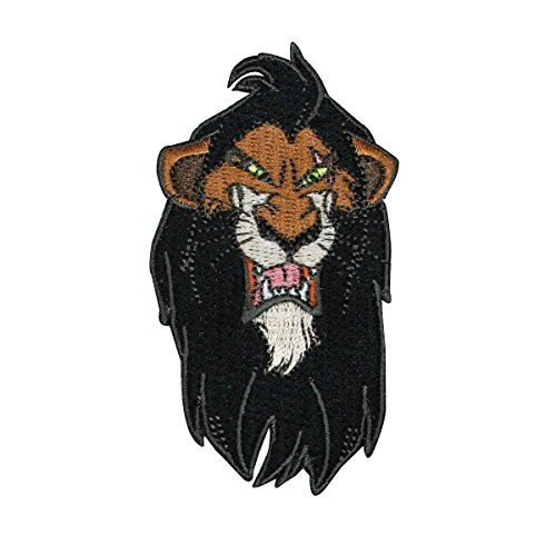 Disney Villain Scar Iron-On Patch Cool Kids Lion King DIY Craft Apparel Applique (Patch The Lion)
