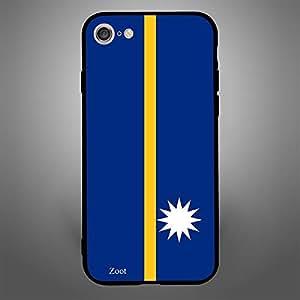iPhone 8 Nauru Flag