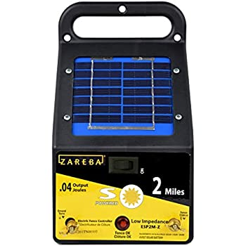 Amazon Com Fi Shock Esp5m Fs 5 Mile Solar Low Impedance