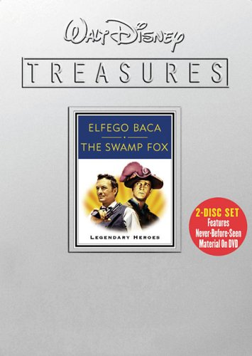 VHS : Walt Disney Treasures - Elfego Baca and The Swamp Fox - Legendary Heroes