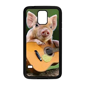 HXYHTY Customized Print Little Pig Hard Skin Case For Samsung Galaxy S5 I9600