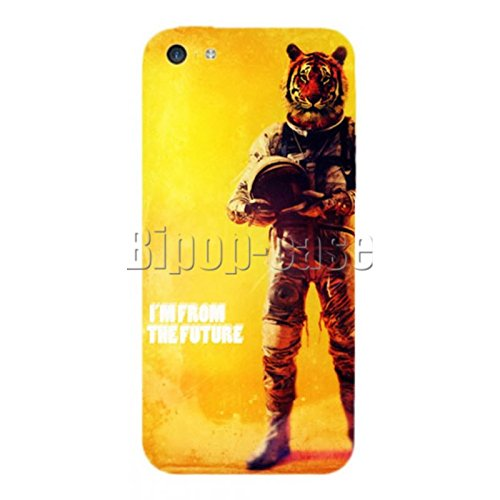 COQUE PROTECTION TELEPHONE IPHONE 5C - LION COSMONAUTE