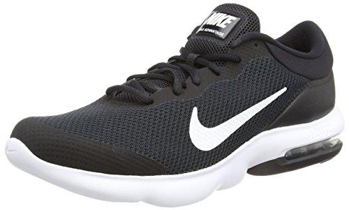 001 Advantage - Nike Men's Air Max Advantage Running Shoe Black/White Size 13 M US