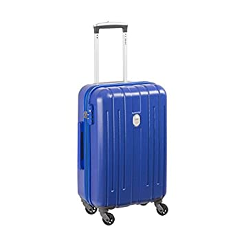 e2fd81adc VISA DELSEY Trolley NEKKAR 55 cm - 4 Roues Cabine - Bleu: Amazon.es: Coche  y moto