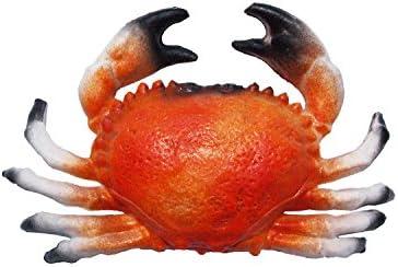 20/cm/ /hohlattr appe en plastique Id/ée de Cadeau d/écoration dimitation faux Food Crabe env