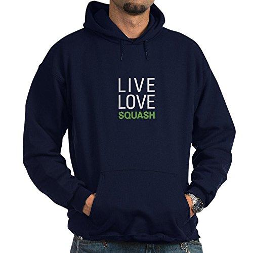 Hardball Pullover Jacket (CafePress - Live Love Squash Hoodie (dark) - Pullover Hoodie, Classic & Comfortable Hooded Sweatshirt)