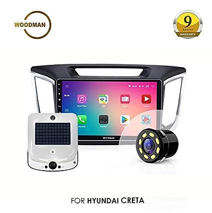 Woodman WM-LX-CRETA70 Android Double Din with Inbuilt GPS