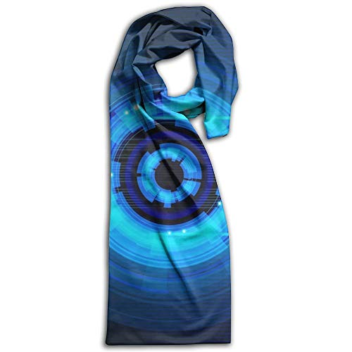 Circle Digital Super Soft Classic Cashmere Pashmina Feel Winter Scarf for Men and Women