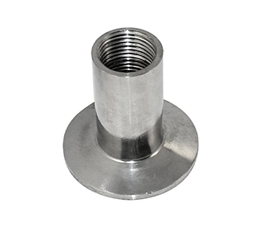 Piupe Stainless steel Sanitary Female Threaded Ferrule 1/2