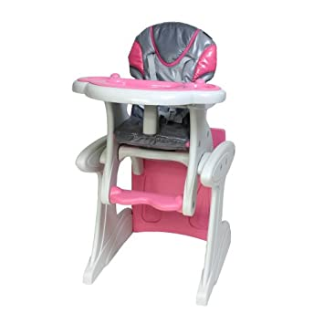 Combi Transition High Chair/Table And Chair Pink Diva
