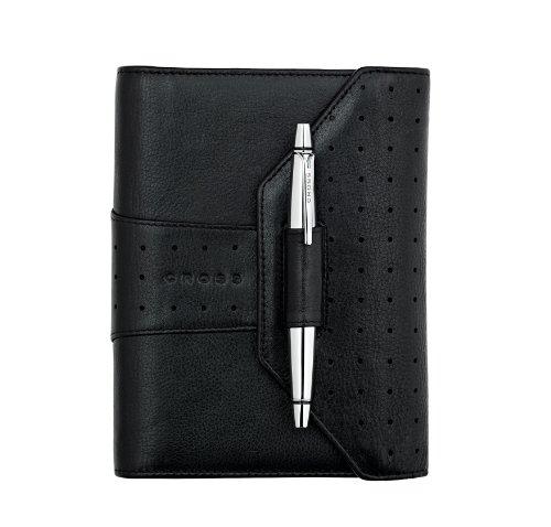 Cross Autocross Leather, Pocket Agenda Calendar, Black (AC234-9) Cross Autocross Pocket Pen