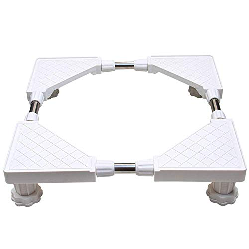 ultifunctional Trolley Appliance Casters Adjustable Moveable Trolley Special Base for Domestic for Dryer Washing Machine,4(Fixed-Foot) ()