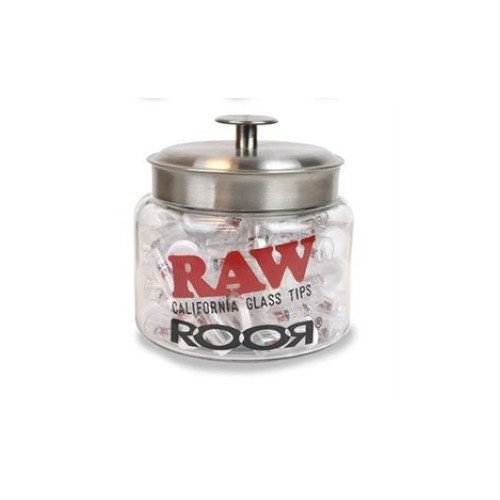 RAW X ROOR TIPS CALIFORNIA GLASS SERIES 1.5'' ASSORTED PACK OF 75