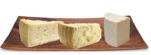 Frank and Sal Italian Cheese Sampler - Parmigiano Reggiano - Pecorino Romano - Grana Padano - 1 Pound Each Total 3 Pounds