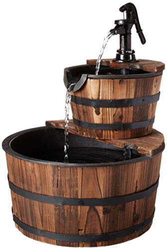 BACKYARD EXPRESSIONS PATIO · HOME · GARDEN 912710 Water - Wood Fountain Water