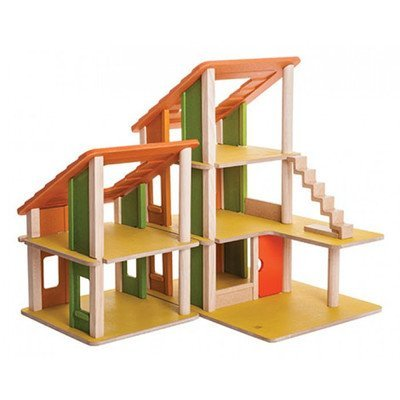 Chalet Dollhouse (Plan Toys Chalet Dollhouse without Furniture by PlanToys)