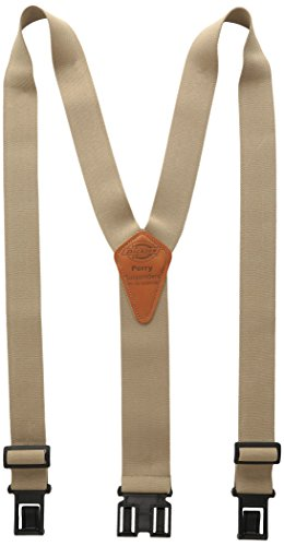 Dickies Men's Perry Suspender,Beige,One Size by Dickies