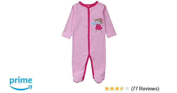 94995ab8614f Amazon.com  BABE MAPS Unisex Babys Footed Sleeper Pajamas Long ...