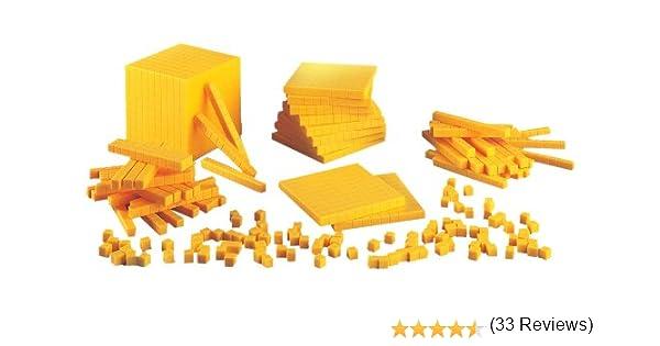 Plastic Base Ten Number Concepts Set: School Specialty Publishing ...