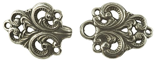 Valle Pewter Cloak/Cape Clasp - 2.5
