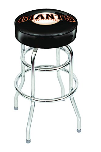 Imperial Officially Licensed MLB Furniture: Swivel Seat Bar Stool, San Francisco Giants