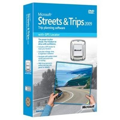 New Microsoft Streets And Trips 2011 With Gps Locator 1 Pc Win32 English Mini Box English