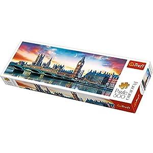 Puzzle500 Panorama Big Ben E Palace Of Westminster Londra