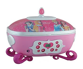 Soundmaster Disney Princess Boombox Jewelry Box CD Amazoncouk