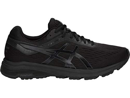 ASICS Men's GT-1000 7 Running Shoes, 11M, Black/Phantom