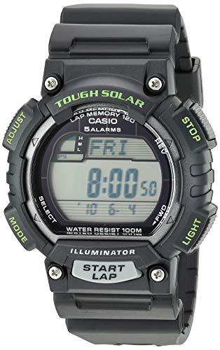 - Casio Men's STL-S100H-1AVCF Tough Solar Runner Black Watch