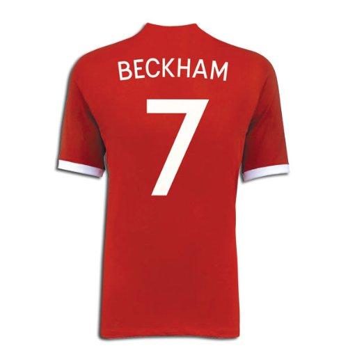 Umbro BECKHAM #7 England Away Jersey