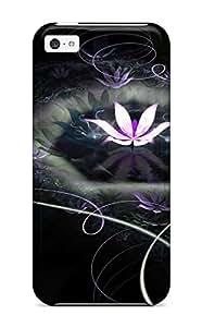 Perfect Fit UwNYGdJ5327hFizz Fantastic Lotus Case For Iphone - 4/4s