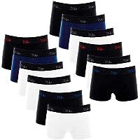 Kit Com 12 Cuecas Boxer de Cotton 4.0 - Polo Match