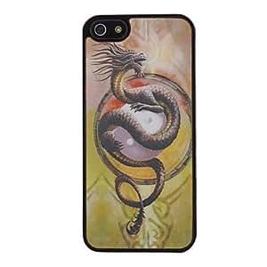 compra Fresco 3d santa imagen del dragón patten de 5/5s iphone