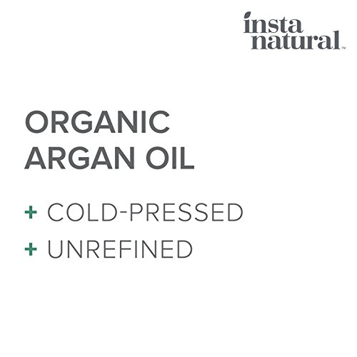 Organic Argan Oil - for Hair, Face, Skin and Body - 100% Pure and Certified Organic Cold Pressed Argan Oil of Morocco - For Nails, Dry Scalp, Split Ends, Stretch Marks & More - InstaNatural - 4 oz by InstaNatural (Image #3)