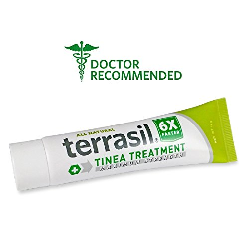 Terrasil® Tinea Treatment MAX - 6x Faster Relief, 100% Guaranteed, Patented All Natural Therapeutic Anti-fungal Ointment for Tinea Versicolor, Corporis, Cruris, and Pedis 14g