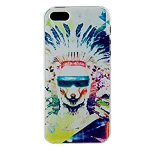 LZXChief of A Tribe Embossment Back Case for iPhone 4/4S