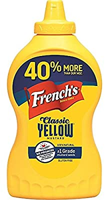 French's Classic 100% Natural Yellow Mustard