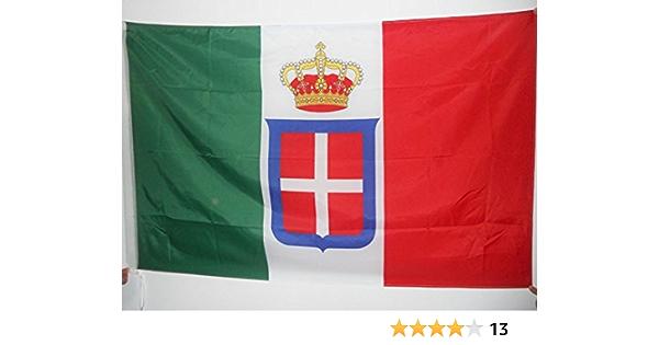 AZ FLAG Bandera del Reino DE Italia Corona 90x60cm para Palo - Bandera Italiana Real 60 x 90 cm: Amazon.es: Hogar