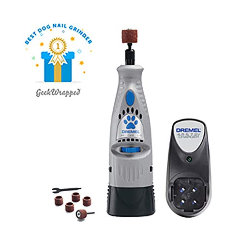 Dremel 7300-PT 4.8V Cordless Pet Dog Nail Grooming & Grinding Tool, Safely & Humanely Trim Pet & Dog Nails
