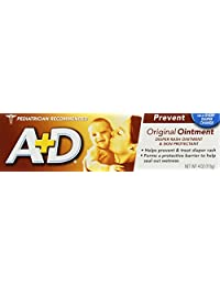 A & D Diaper Rash Ointment 4 oz. (Pack of 2)