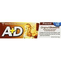 A & D Diaper Rash Ointment 4 oz. (Pack of 2)