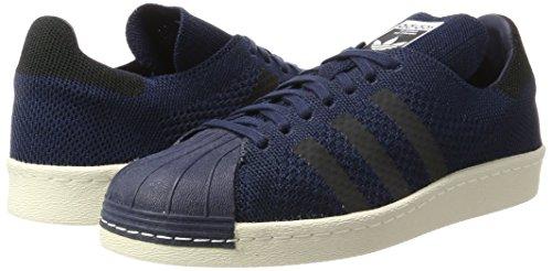 Navy Black Superstar Adidas Sneakers Basses 80s collegiate Homme onix core Primeknit Bleu a8wq6Z8v