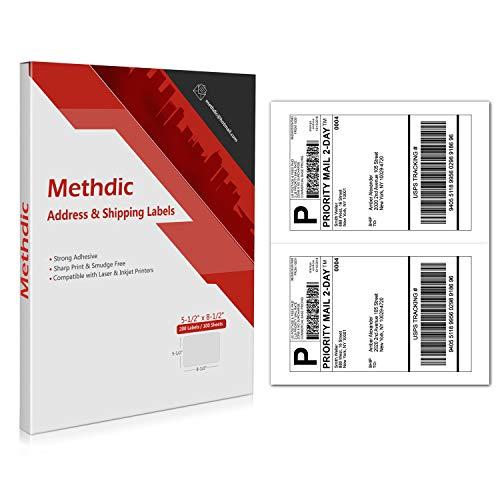 (Methdic 2-UP Half Sheet 5-1/2